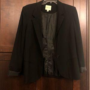 Closet Staple ❤️ UO Black Single Button Blazer